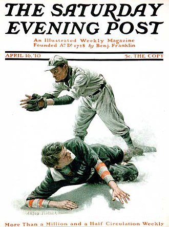 The Saturday Evening Post - Image: Satruday Evening Post 041610