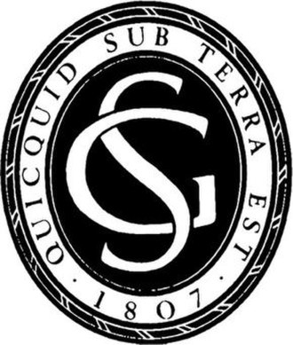 Geological Society of London - Image: Seal of the Geological Society of London