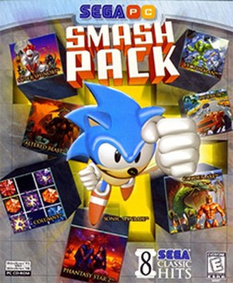 Sega Smash Pack - Image: Sega Smash Pack Vol 1 PC