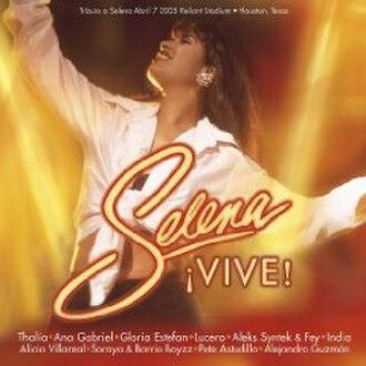 Selena ¡VIVE! - Image: Selenai Vive!Album