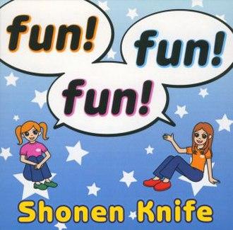 Fun! Fun! Fun! - Cover of English version (BF-7CD)