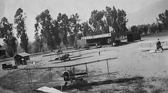 Hastings Ranch, Pasadena, California - Sierra Airdrome, also called Hastings Airport, 1920