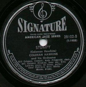Signature Records - Image: Signature Record