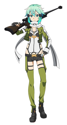 Sinon (Sword Art Online) - Wikipedia