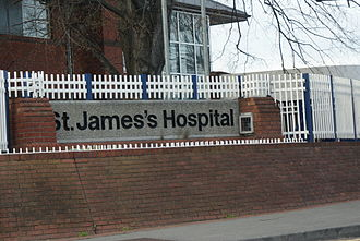 St. James's Hospital - South Circular Road entrance to St. James's Hospital