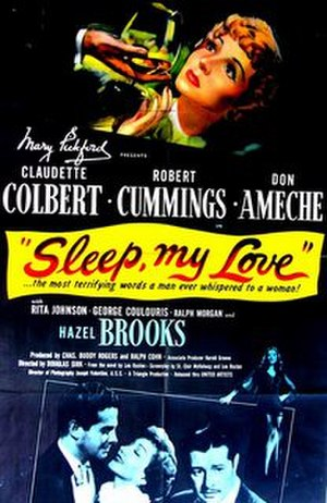 Sleep, My Love - Theatrical release poster