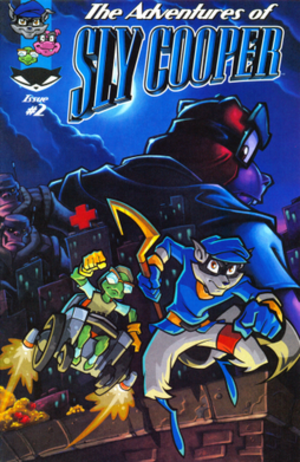 Sly Cooper - The cover of the second promotional Sly Cooper comic