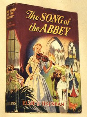 Abbey Series - Dustjacket from The Song of the Abbey.