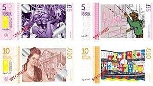 Bristol Pound - Image: Specimen Bristol Pound