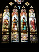 The Four Gospels window