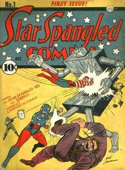Star Spangled Comics Wikipedia