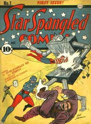 Star-Spangled Comics - Image: Star Spangled Comics 01