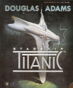 Starship Titanic - Image: Starship Titanic box art