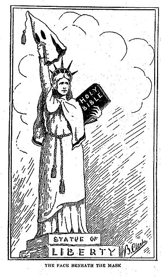 Branford Clarke - Image: Statue of Liberty from Heroes of the Fiery Cross