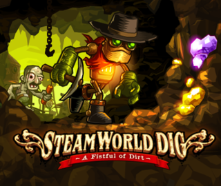 <i>SteamWorld Dig</i> 2013 action-adventure game