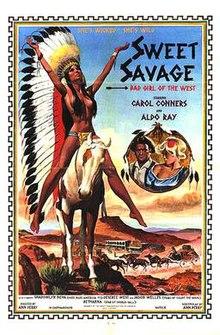 Vintage carol connors aldo ray sweet savage 1978 7