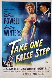 Take one false step 1949 poster small.jpg