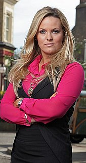 Tanya Branning fictional character in BBC soap opera EastEnders