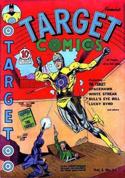 Image result for golden age target comics