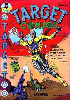 Target and the Targeteers - Image: Target comics 10