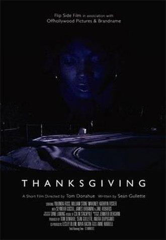 Thanksgiving (2004 film) - Image: Thanksgiving (2004 film) (movie poster)