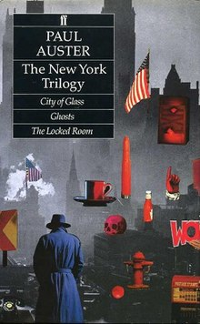 Image result for the city of glass paul auster book cover