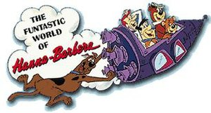 The Funtastic World of Hanna-Barbera (ride) - Promotional Poster