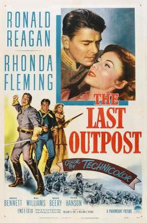 The Last Outpost (1951 film) - Theatrical release poster