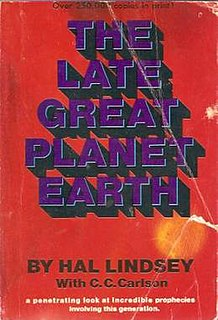 <i>The Late, Great Planet Earth</i> 1970 nonfiction book