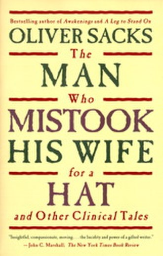 The Man Who Mistook His Wife for a Hat - Image: The Man Who Mistook His Wife for a Hat cover