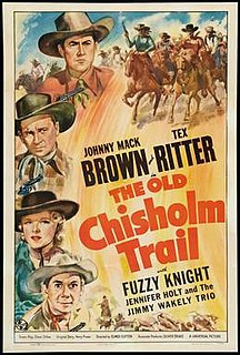 <i>The Old Chisholm Trail</i> (film) 1942 film by Elmer Clifton