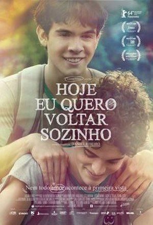 The Way He Looks - Brazilian theatrical release poster