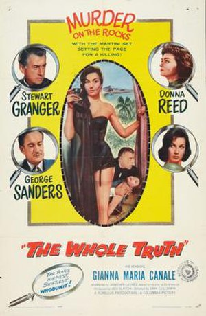 The Whole Truth (1958 film) - Image: The Whole Truth Film Poster