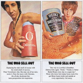 The Who Sell Out - Image: The who sell out album front