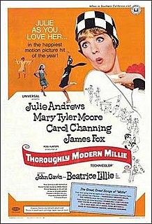 <i>Thoroughly Modern Millie</i> 1967 film by George Roy Hill