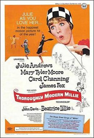 Thoroughly Modern Millie - Original poster