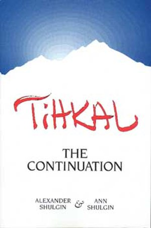 TiHKAL - Cover of TIHKAL, 1st ed.