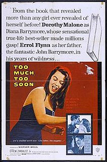 <i>Too Much, Too Soon</i> 1958 film by Art Napoleon