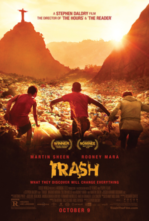 Trash (2014 film) - Theatrical release poster
