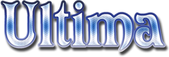 Ultima (series) - The most commonly used logo in the series