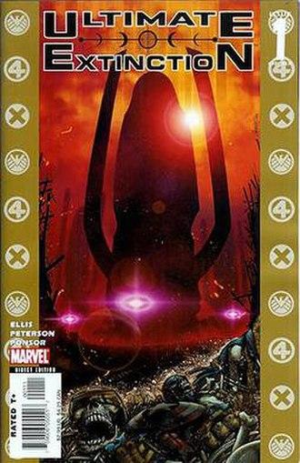 Ultimate Galactus Trilogy - Image: Ultimate Extinction 1
