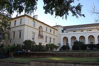 University of Sydney Union - Image: Usydholmebuilding
