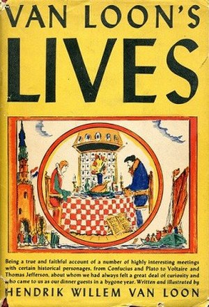 Van Loon's Lives - First edition (publ. Simon & Schuster)