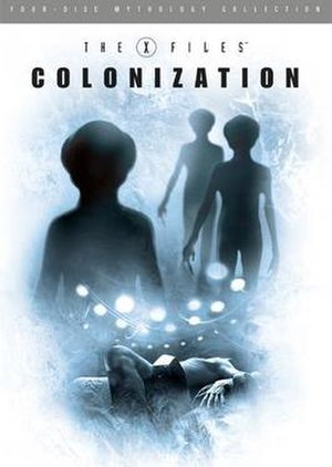 The X-Files Mythology, Volume 3 – Colonization - Region 1 DVD cover