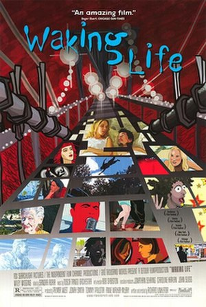 Waking Life - Theatrical release poster