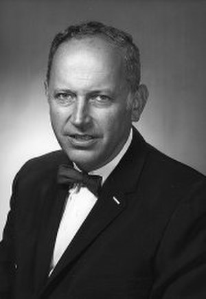 Walter Adams (economist) - Walter Adams, official press release photo as president, April 1969.