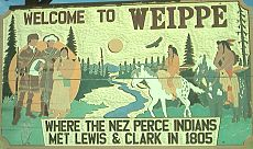 Weippe Welcome Sign.JPG