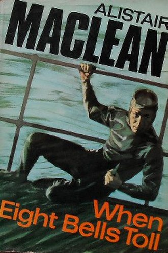 When Eight Bells Toll - First edition cover (UK)
