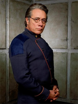 William Adama - Edward James Olmos as William Adama