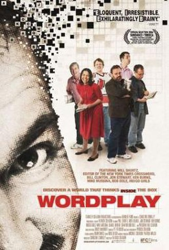 Wordplay (film) - Promotional movie poster for the film